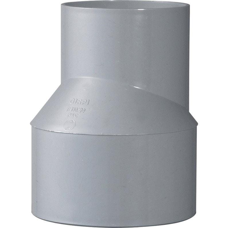 Réduction Excentrée Mâle Femelle Pvc Diam110100 Mm Girpi