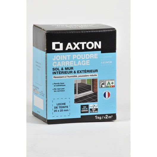 joint poudre tout type de carrelage et mosa que axton. Black Bedroom Furniture Sets. Home Design Ideas
