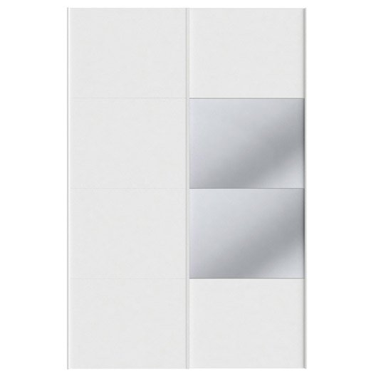 Lot De 2 Portes Coulissantes Spaceo Home 240 X 160 X 15 Cm