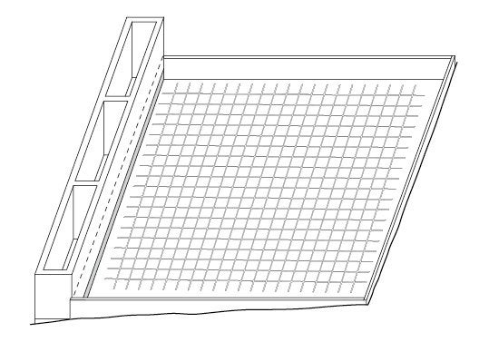comment cr er une terrasse bois en pente leroy merlin. Black Bedroom Furniture Sets. Home Design Ideas