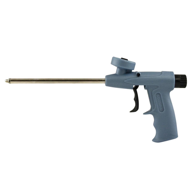 pistolet pour mousse expansive foam gum soudal x mm mm leroy merlin. Black Bedroom Furniture Sets. Home Design Ideas