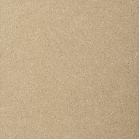 Prédécoupé médium (mdf) naturel, Ep.10 mm L.120 x l.60 cm