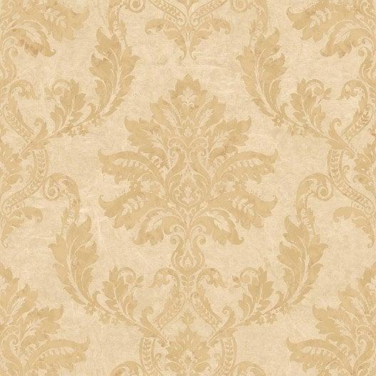 papier peint classic dor or intiss jade leroy merlin. Black Bedroom Furniture Sets. Home Design Ideas