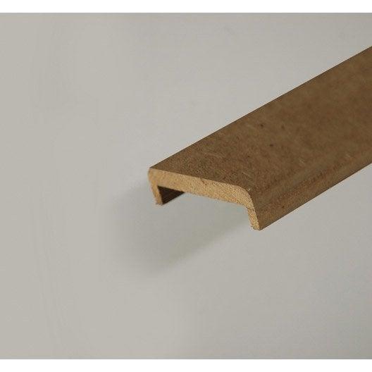 nez pour cloison de 100 mm en mdf pr peint l 2 50 m. Black Bedroom Furniture Sets. Home Design Ideas