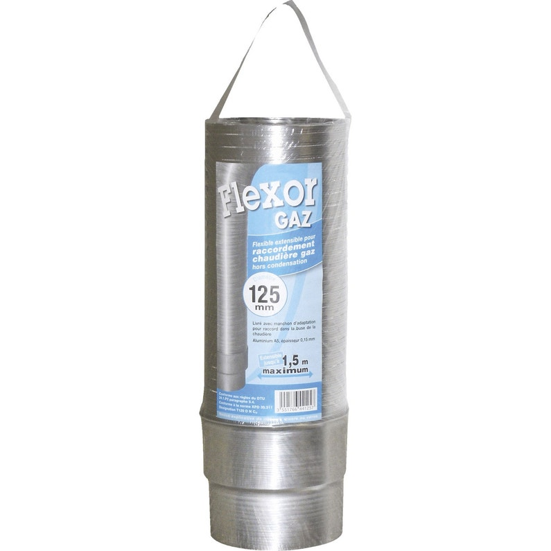 Flexor Gaz Pour Raccordement Isotip Joncoux Diam125 Mm Aluminium