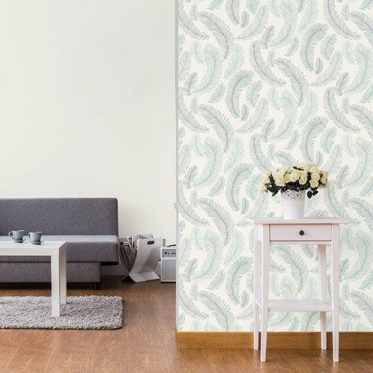 Papier peint tapisserie papier peint intiss et vinyle - Papier peint pour cuisine leroy merlin ...