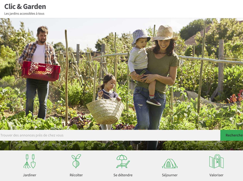 Clic & Garden, le Airbnb du jardin