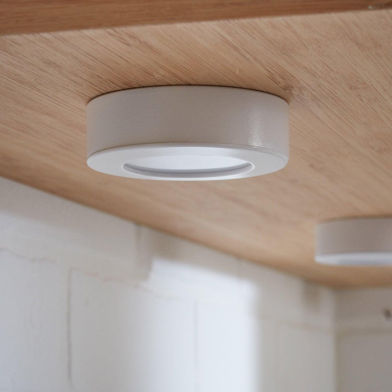 Spot Lakao, 1 x 2.6 W, LED intégrée blanc froid, blanc