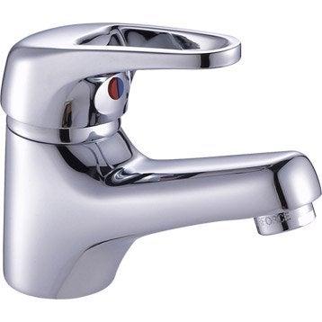 Mitigeur lavabo chromé, SENSEA Ikka