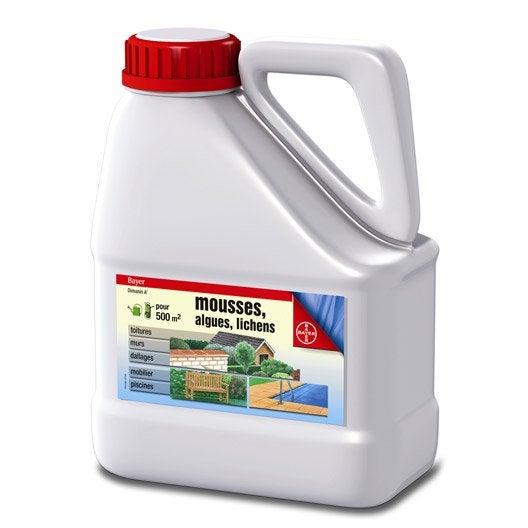 Desherbage desherbant desherbeur thermique au meilleur for Bayer jardin anti mousse