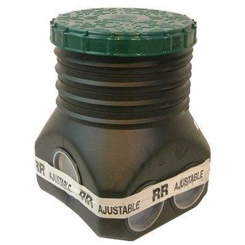 Regard de répartition pour épandage polyéthylène, L.350 x l.32 mm