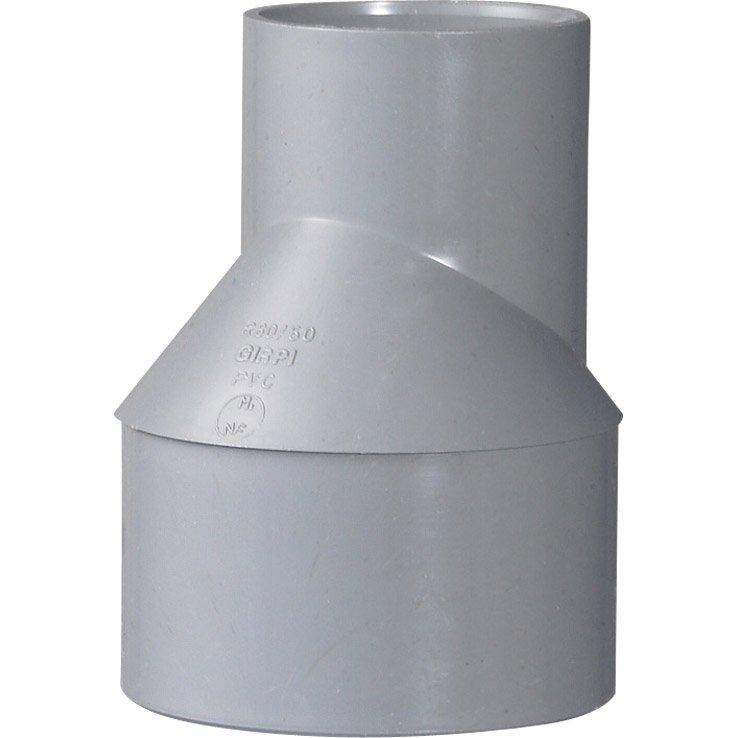 Réduction Excentrée Mâle Femelle Pvc Diam8050 Mm Girpi