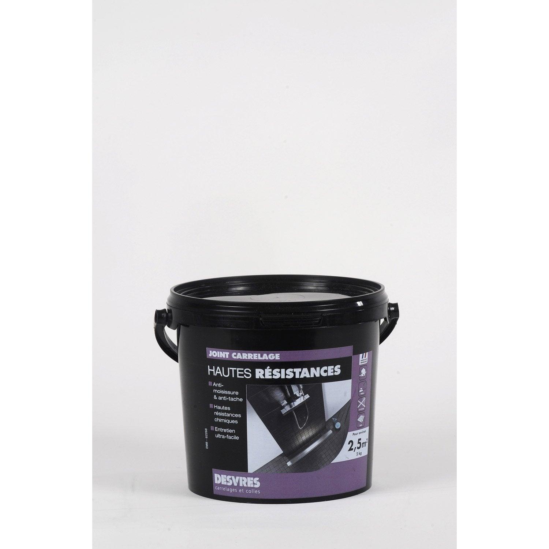joint en p te tout type de carrelage et mosa que desvres gris anthracite 2 kg leroy merlin. Black Bedroom Furniture Sets. Home Design Ideas