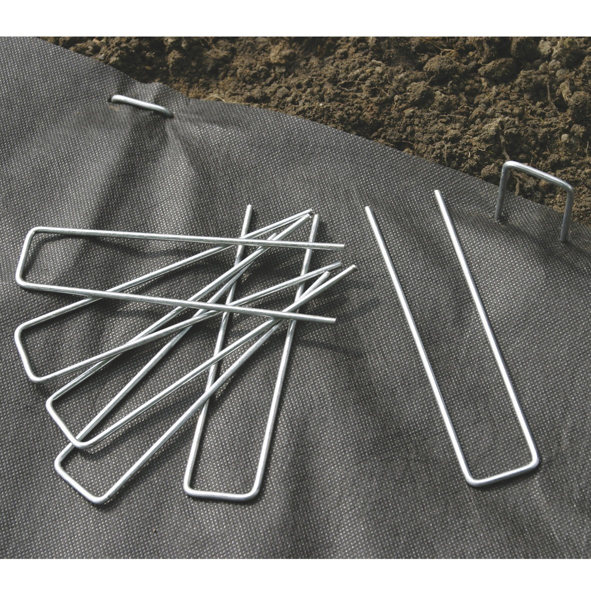 Lot De 10 Agrafes Metalliques Nortene 0 17x0 035 M Leroy Merlin