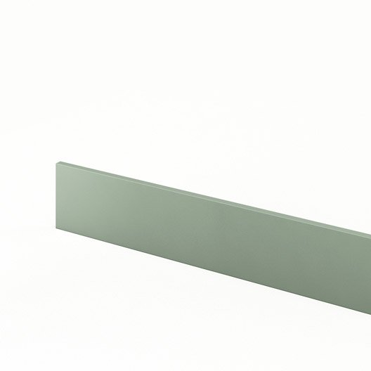 Plinthe de cuisine vert plinthe milano l 270 x h 14 9 cm for Plinthe cuisine 17 cm