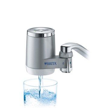 Filtre sur robinet on tap chromé BRITA