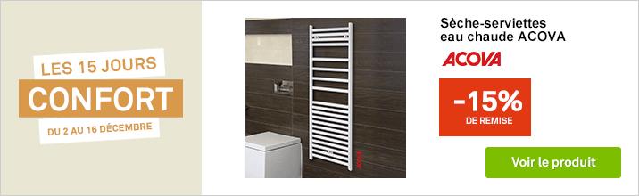 s che serviettes radiateur s che serviettes chaudi re r gulation et climatiseur leroy merlin. Black Bedroom Furniture Sets. Home Design Ideas