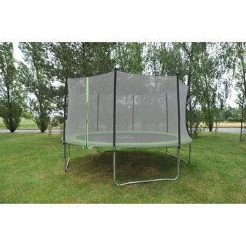 Trampoline Diam. 420 cm, noir