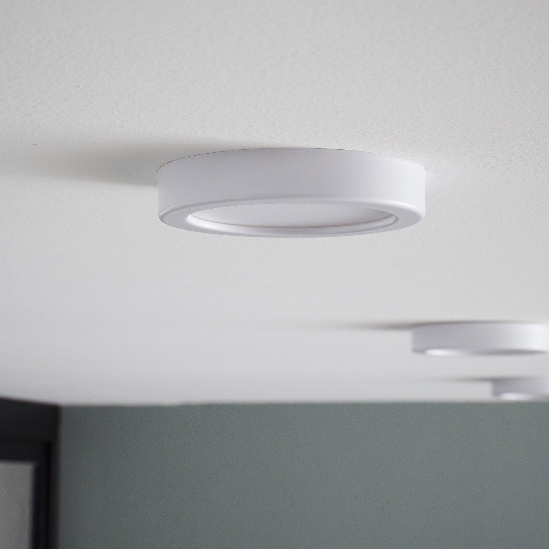Kit de 1 spot à encastrer ou à fixer Kars fixe led INSPIRE LED ...