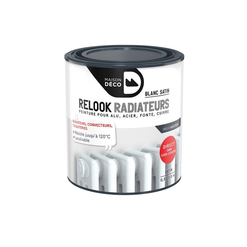 Peinture Relook Radiateurs Maison Deco Blanc Satin 05 L
