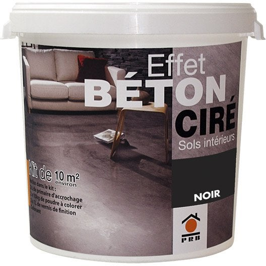 B ton effet cir ivoire prb 10m leroy merlin - Kit beton cire leroy merlin ...