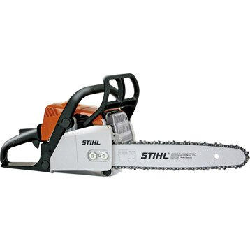 Tronçonneuse à essence STIHL Ms 170D 30.1cm3, 35cm de coupe