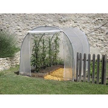 tunnel et mini tunnel de jardin serre tunnel film d 39 hivernage et de for age leroy merlin. Black Bedroom Furniture Sets. Home Design Ideas