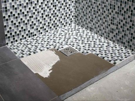 Comment r aliser sa douche avec lux elements leroy merlin - Kit beton cire leroy merlin ...