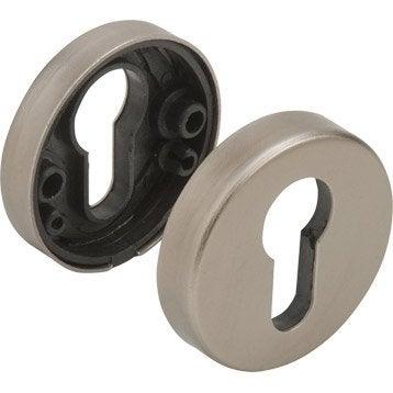 Lot de 2 rosaces de fonction A2 a trou de cylindre, aluminium