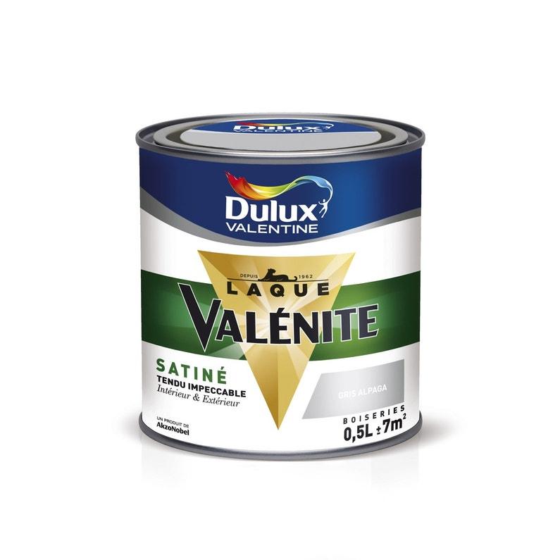 Peinture Boiserie Valénite Dulux Valentine Gris Titanium 05 L