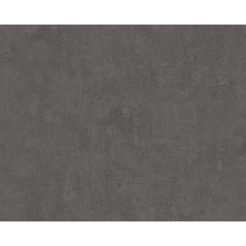 Papier Peint Marbre Gris Fonce Intisse Metropolis 2 Leroy Merlin