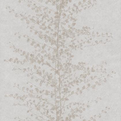 Papier Peint Guirlande Arbre Beige Irise Intisse Sherwood Leroy Merlin