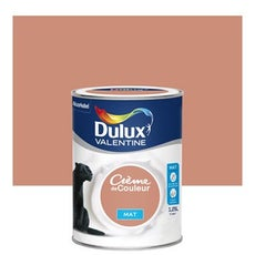 Peinture murale couleur peinture acrylique leroy merlin - Dulux valentine figue ...