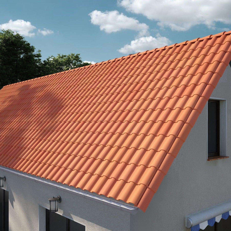 tuile imerys toiture rouge meridionale 13 leroy merlin. Black Bedroom Furniture Sets. Home Design Ideas