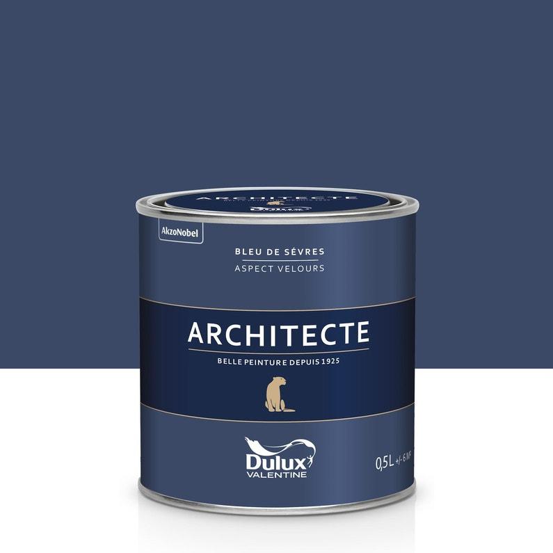 Peinture Bleu De Sèvres Velours Dulux Valentine Architecte 05 L