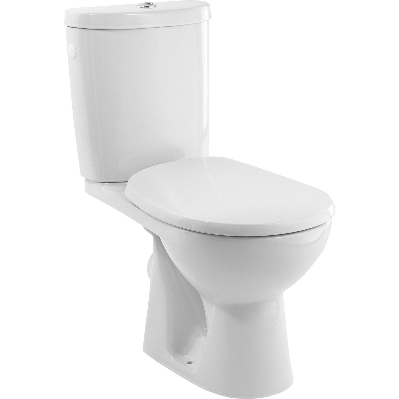 Leroy Merlin Wc Handicapé pack wc à poser sortie horizontale, sensea remix