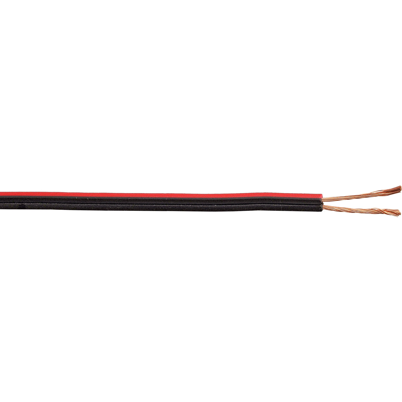 Cordon Electrique Pour Lampe fil électrique noir / rouge, l.10 m