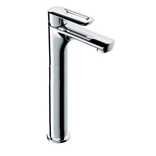 Mitigeur de lavabo bec moyen Neva, chromé | Leroy Merlin