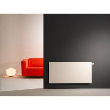 Radiateur chauffage central Colima blanc, l.100 cm, 1521 W