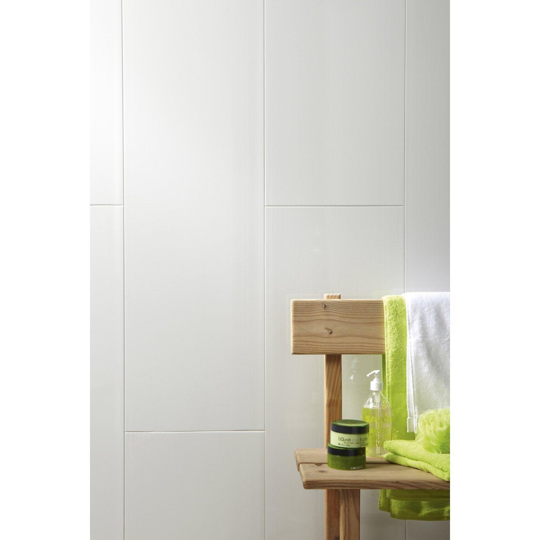 Lambris PVC blanc ARTENS L.260 x l.37.5 cm x Ep.8 mm | Leroy Merlin