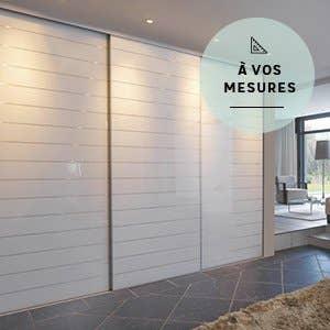 Porte de placard et cloison standard et personnalisable for Largeur standard de porte