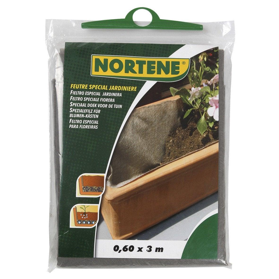 Feutre de drainage pour jardinière NORTENE 150011   Leroy Merlin