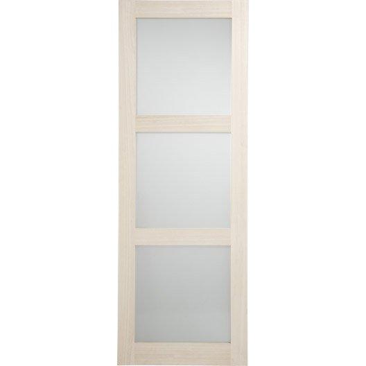 Porte coulissante aluminium verre 63