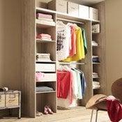 rangement dressing leroy merlin. Black Bedroom Furniture Sets. Home Design Ideas