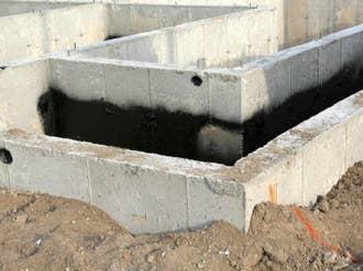Comment réaliser l'étanchéité des fondations ?