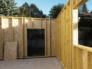 La construction à ossature bois