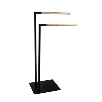 porte serviette mural ou sur pied au meilleur prix leroy merlin. Black Bedroom Furniture Sets. Home Design Ideas