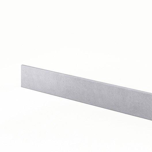 Plinthe de cuisine d cor b ton plinthe berlin x h for Plinthe cuisine 17 cm