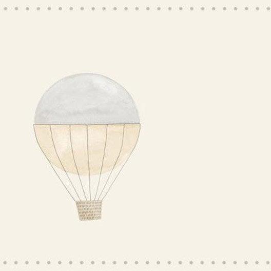 frise montgolfiere beige intiss little world leroy merlin. Black Bedroom Furniture Sets. Home Design Ideas