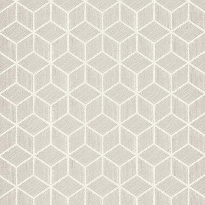 Papier peint hexagone gris irisé intissé shades   Leroy Merlin